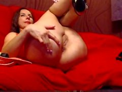 ClarissaMilf anal-beads, buttplug, anal fingering