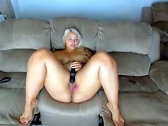 Amatööri Blonde kanssa Fat Ass sucks Good Dick