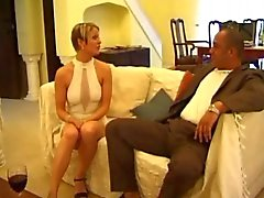 British slut Lorna in a FFM threesome