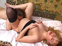 Yulia Tikhomirova - Pregnant fun with her husband again