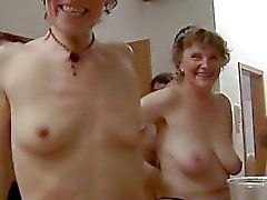 Amateur group sex at a party