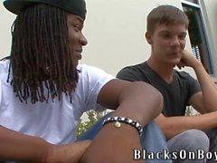 Cute di Twink Jordan Pierce diventerà nero