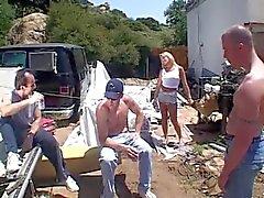Chelsea Zinn - Gangbang white trash style