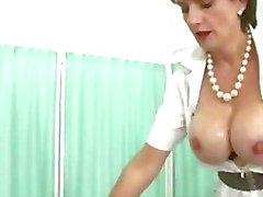 Busty wife gets tittyfucked by lucky stanger