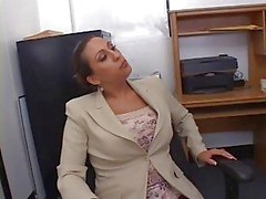 Hot Busty Secretary Alisandra Monroe Banged in Office