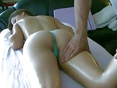 pampered porn bitch gigi rivera has her minge massaged before a shagging