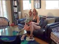 Lesbian Goddess BabySitters Catch you Spying