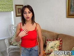 PropertySex Marilyn Mansion Gets Her Tits Rocked