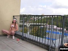 Lily Klass is a sweet city girl that loves to masturbate...