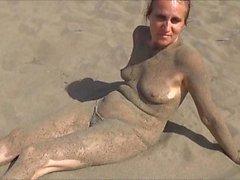 Wife at beach!