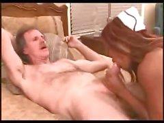 Grandpa fucking one delicious nurse