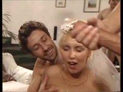 Wedding bukkake