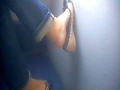 Pie Candid Madura ligadora - MILF - de autobús - Fetichismo treinta y nueve