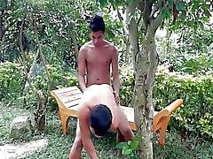 arka bahçe Bareback