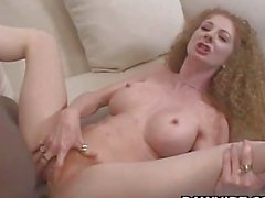 Ginger Slut Hot Interracial Fuck