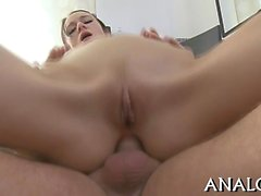 Beauty is captivating dude with explicit anal riding