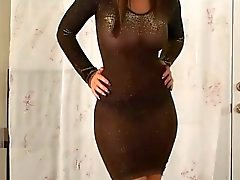Christina Model see through Dress (xednorton)
