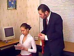 Sache Chloroform und Raps ihre Sekretärin im Büro