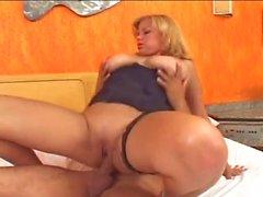 Blond big tits