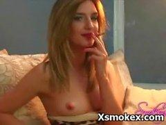 Wild Pervert Girl Fancying Smoking Porn