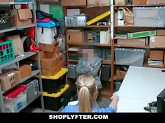 ShopLyfter - Guy Caught Stealing Gets Dominated by LP Oficer