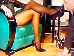 At the Mistresses feet