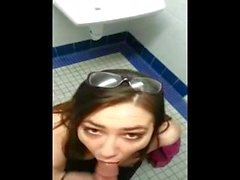 toilet bj and sex in london-evilwebcams