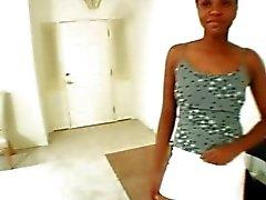 Ebony Mahonie kreeg crème