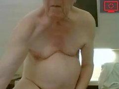 nonno masturbandosi & cum