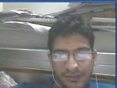 Akhil um menino indiano norte masturbando na cam