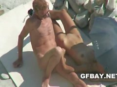 Posing naked on the beach - Home Porn gfBay beach sex video