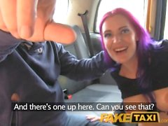 FakeTaxi Filthy hot goth loves anal fucking