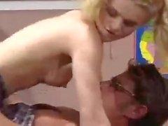 SB3 Sexy Schoolgirl Seduces Her Teacher !