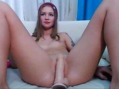 Tight ass brunette amateur Angel Hott