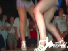 Tiny tits amateur parties