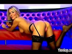Becky Roberts on Webcam no sound -