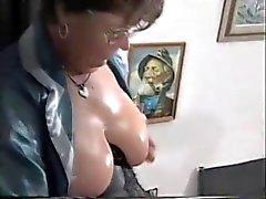 Olgun Fransız Housewife Fucks
