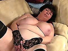 Big titted granny showing her old Shakia from 1fuckdatecom