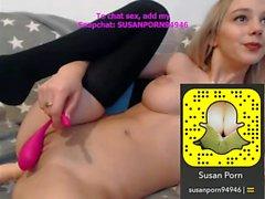Valkoinen sukupuoli näyttää lisää Snapchat: SusanPorn94946