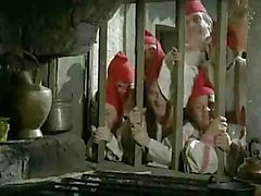 Snow White finds her prince and his cock while the dwarfs watch