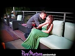 PureMature Seductive Mom Alison Star Gets Banged On Romantic Balc