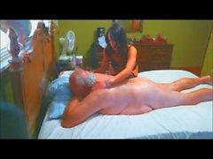 Chubby Grandpa Erotic Massage