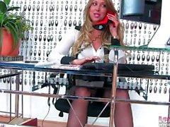 segretario del sexy di Lexi lowe di