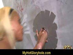 Blowjob gloryhole - Super hot girl sucking white cock 24