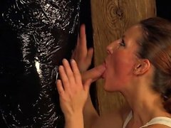 Euro pornstar punishment and cumshot