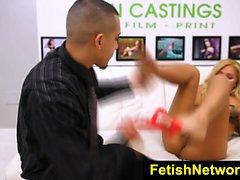 FetishNetwork Chanel Collins teen slave