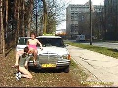 teini saa anaali nai taksinkuljettaja