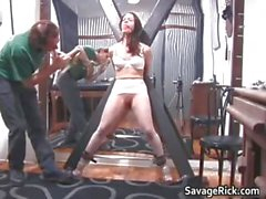 Kinky brunette hoe Brianna gets her tiny part3
