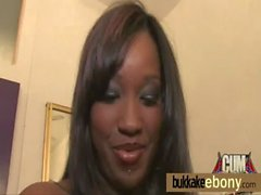 Ebony gangbanged interracial 2