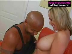 Milf Big Tits gets it from Black guy from behind pt 1